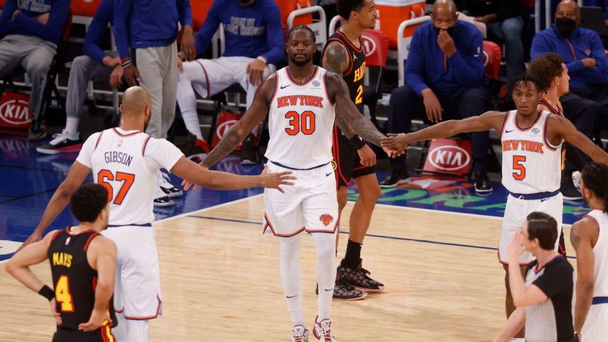 "Former NBA All-Star John Starks On The New York Knicks- ""I Love Their Mentality."""