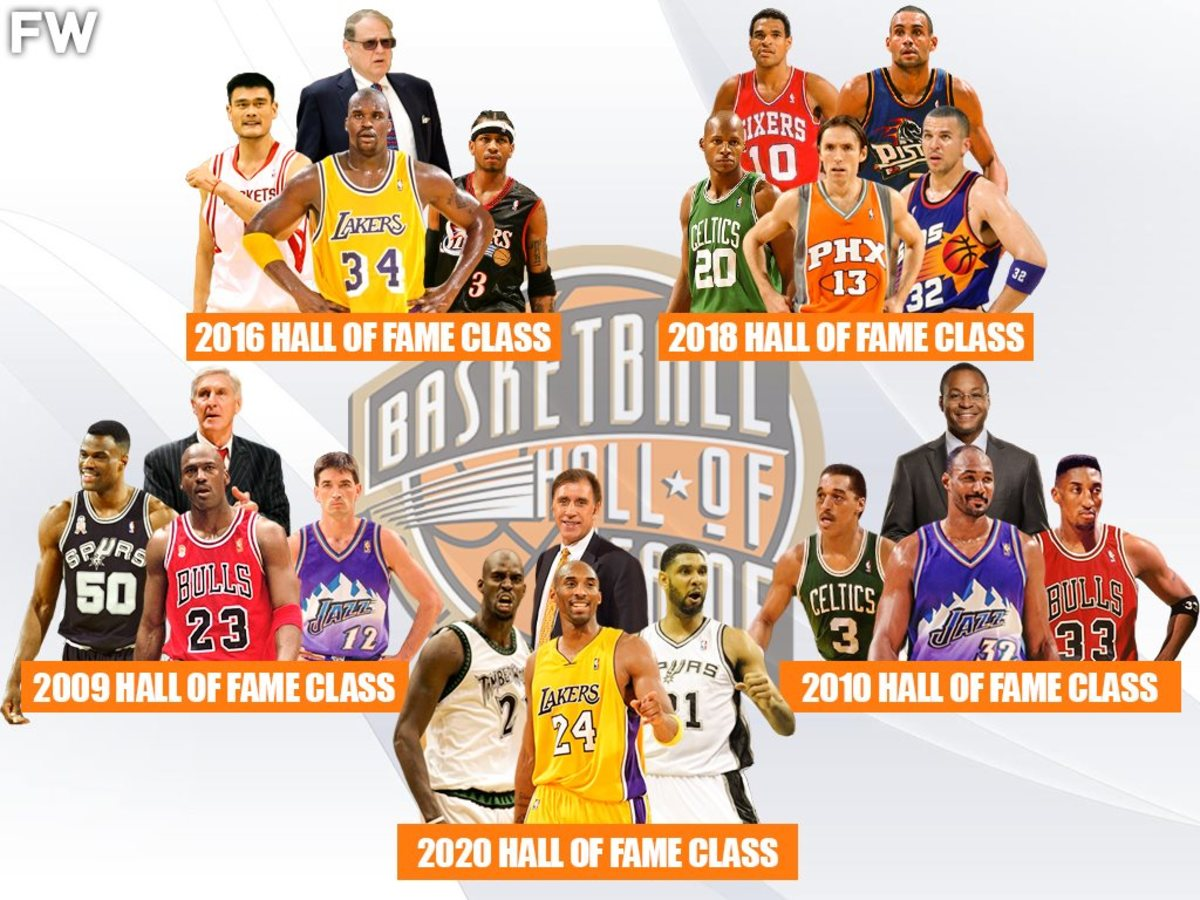 Ranking The Top 10 Greatest Hall Of Fame Classes Of All Time