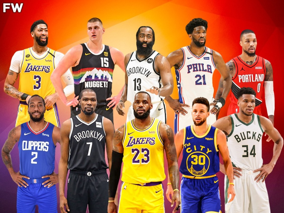 Top 10 Players In The NBA When Healthy: LeBron James, Kevin Durant, Stephen Curry