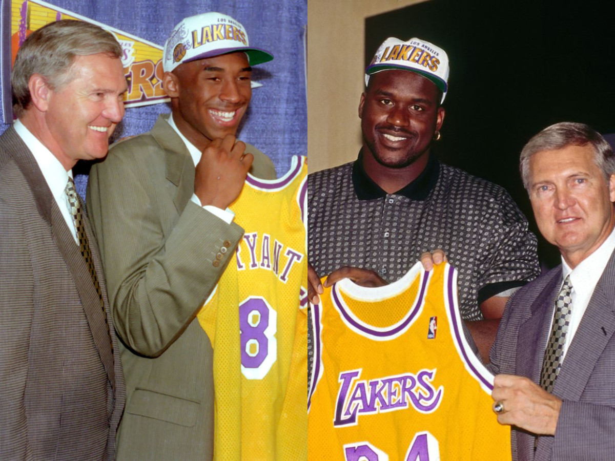 Jerry West Was The Force Behind Acquiring Kobe Bryant and Shaquille O'Neal