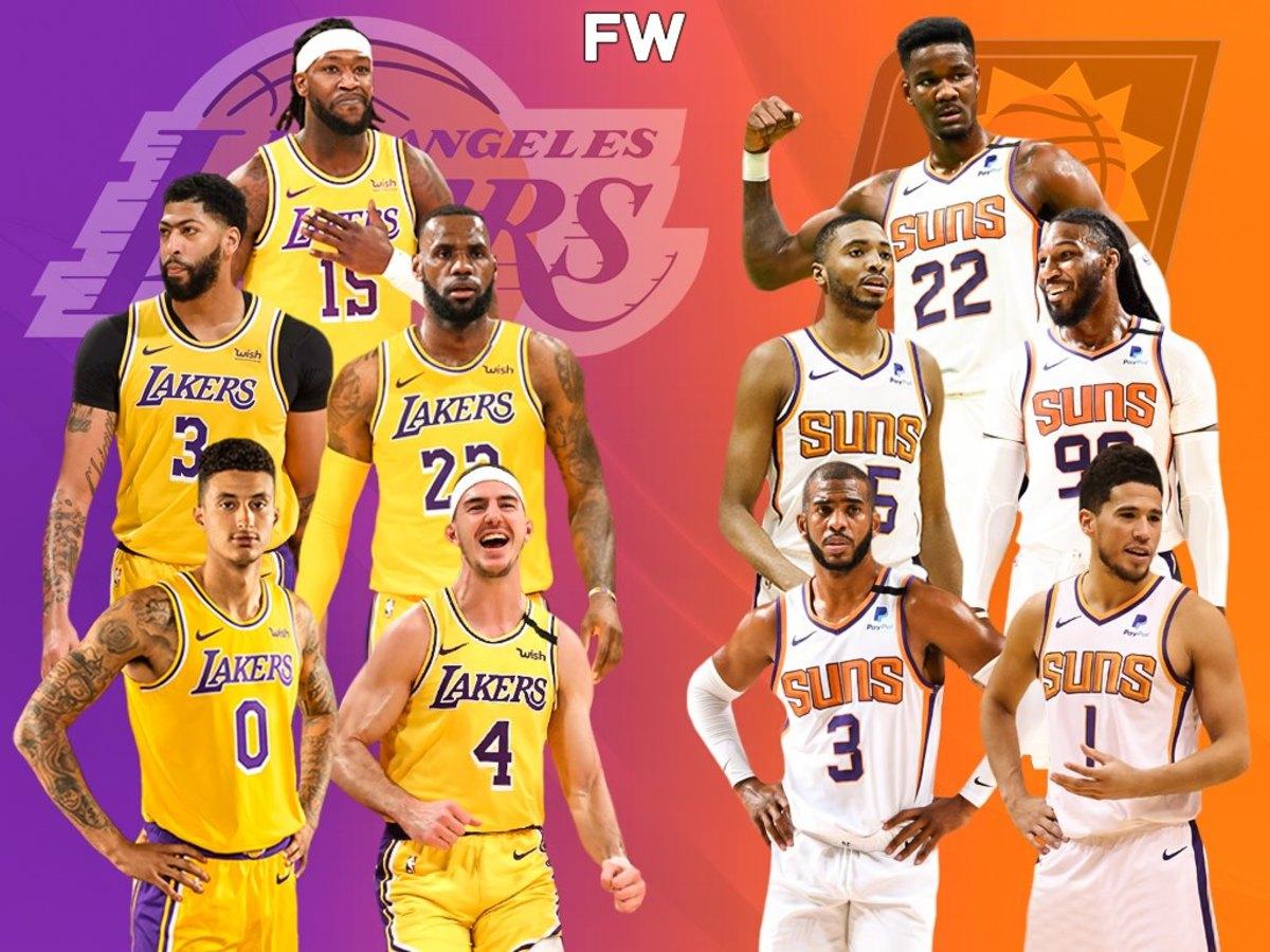 The Full Comparison: Los Angeles Lakers vs. Phoenix Suns