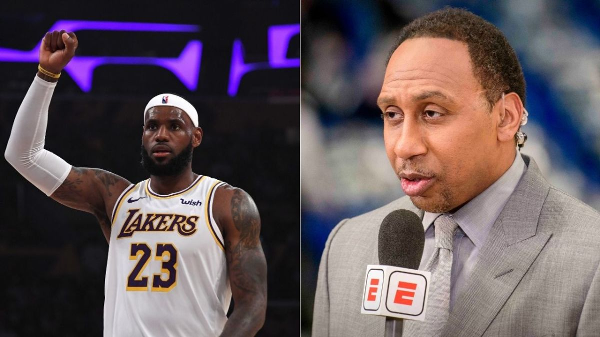 """Stephen A. Smith On LeBron James- """"We Have Never Seen Him Come To A Postseason Looking This Way."""""""