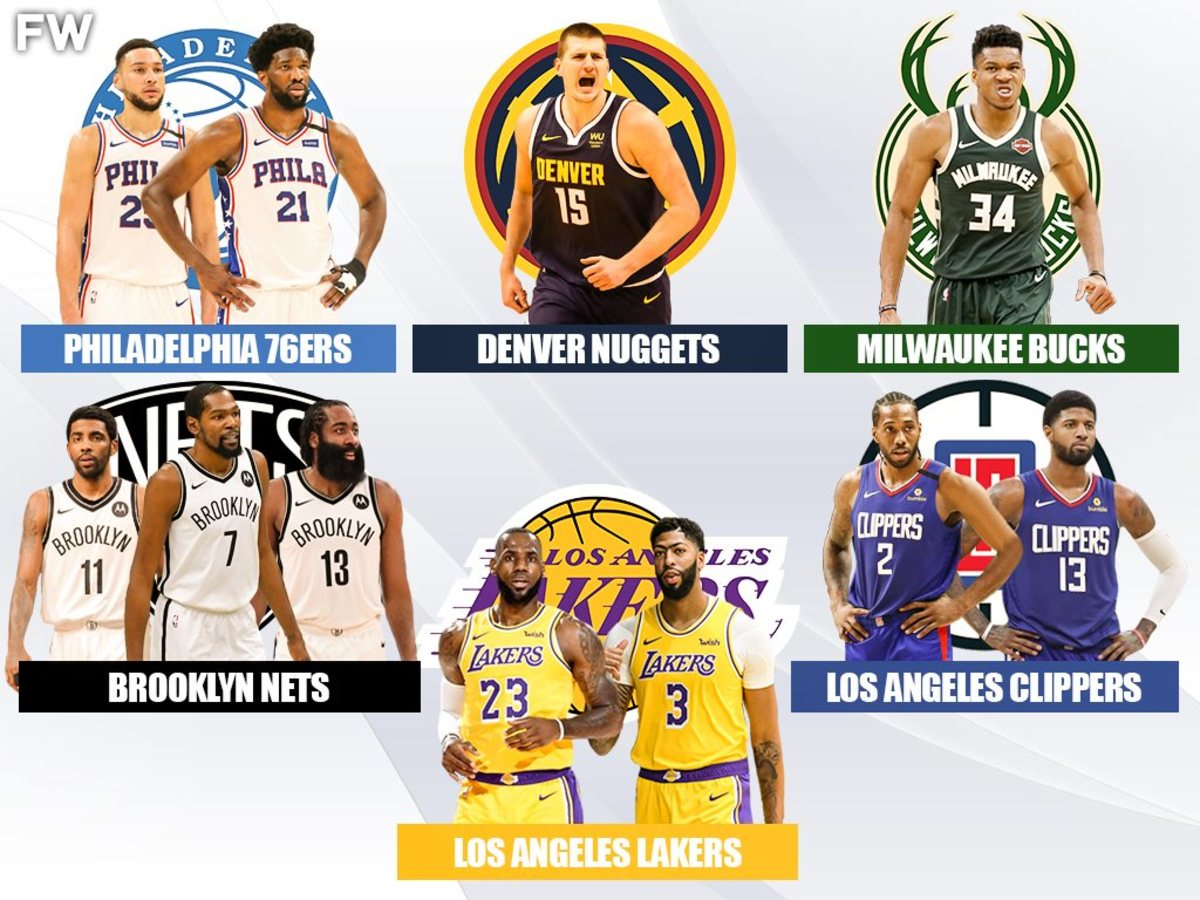 Ranking The Biggest Favorites For The 2021 NBA Championship: Lakers, Nets, Clippers