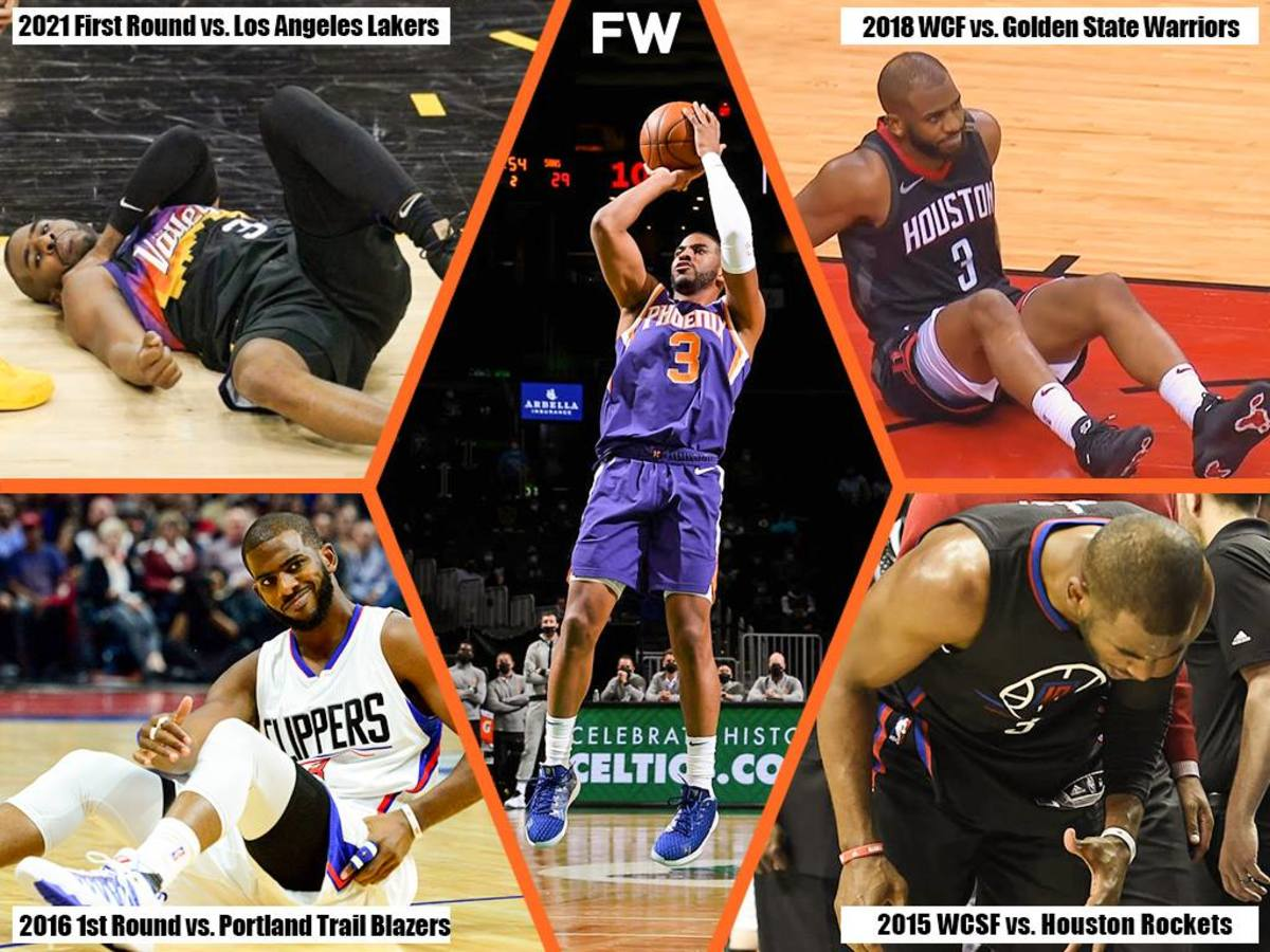 Chris Paul Has Had 4 Key Injuries In His NBA Playoffs Career: This Is Why He's Never Played In The Finals