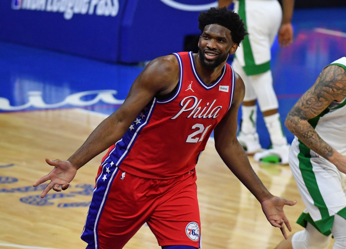 Joel Embiid Dominates In Game 3, NBA Fans React