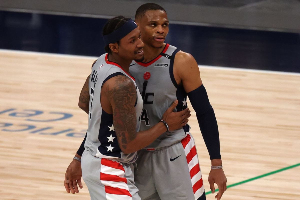 Bradley Beal And Russell Westbrook Respond After Falling To 0-3 Against Sixers
