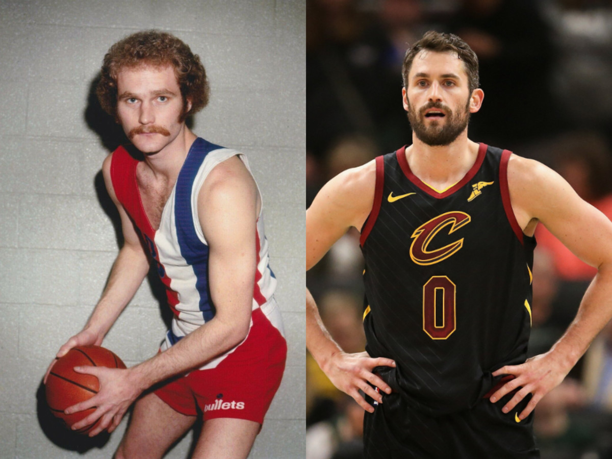 Stan Love and Kevin Love