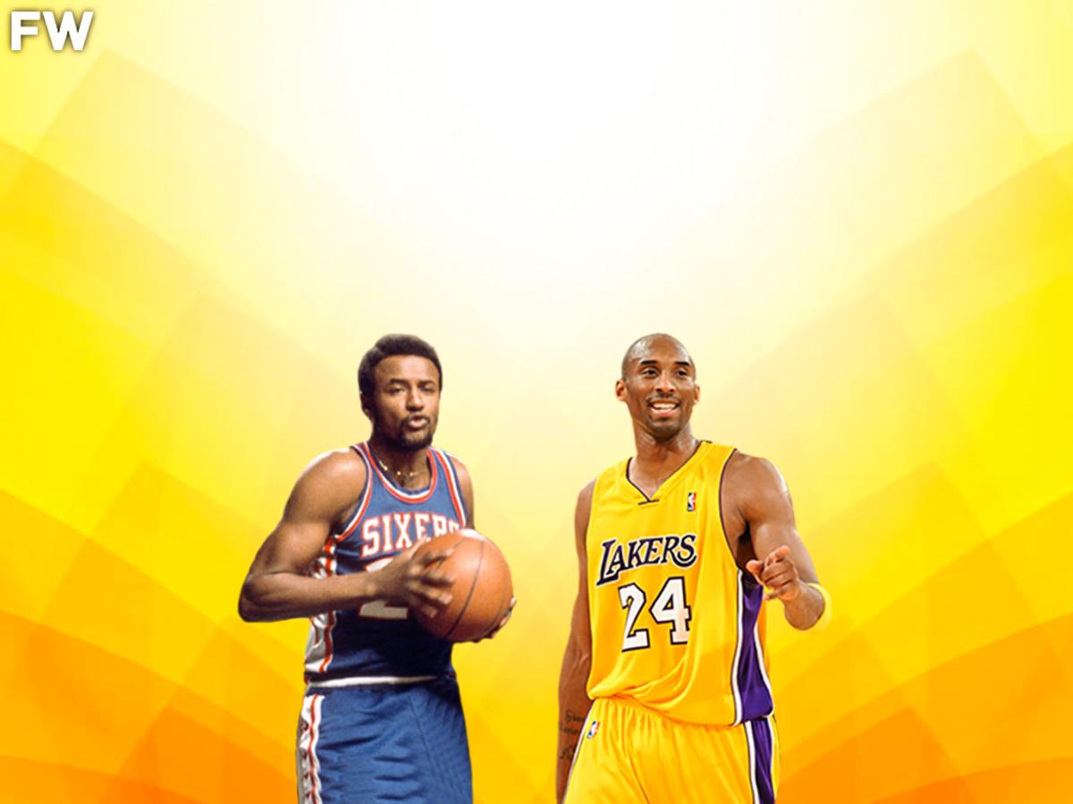Joe Bryant and Kobe Bryant