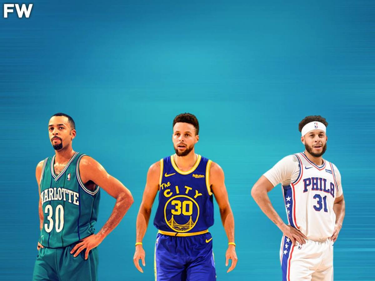 Dell Curry, Stephen Curry, and Seth Curry