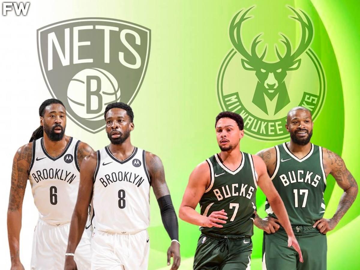 Brooklyn Nets Bench vs. Milwaukee Bucks Bench