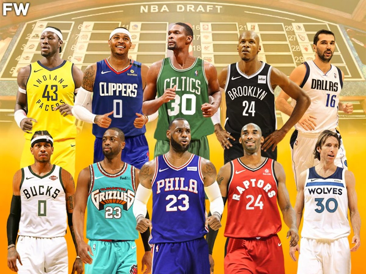 Re-Drafting 1996 And 2003 Draft Classes: LeBron James Or Kobe Bryant As No. 1 Pick?
