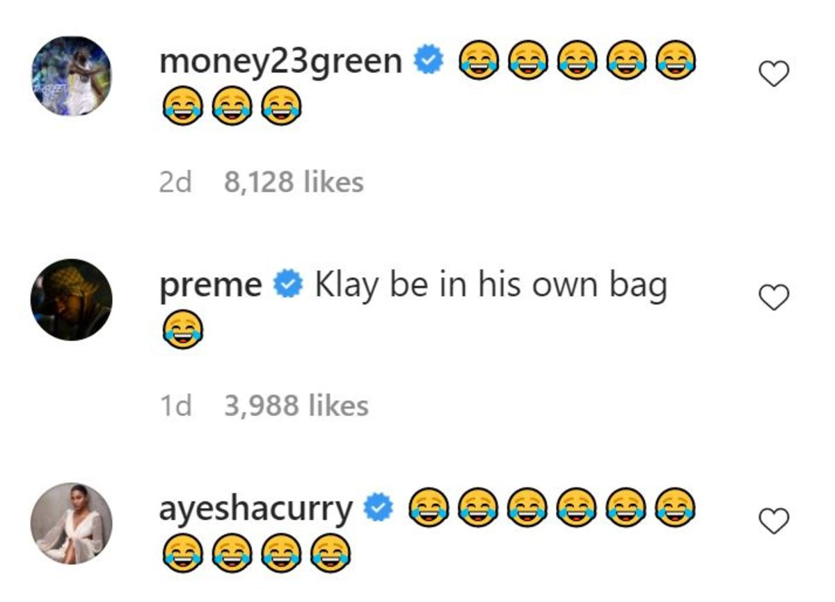 klay comments