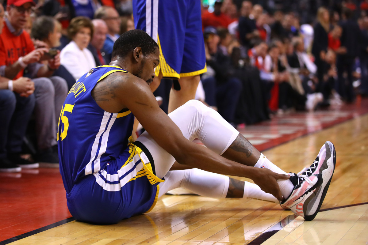 """Kevin Durant's Mom Speaks Up About Achilles Injury- """"It Was Hard To Watch."""""""