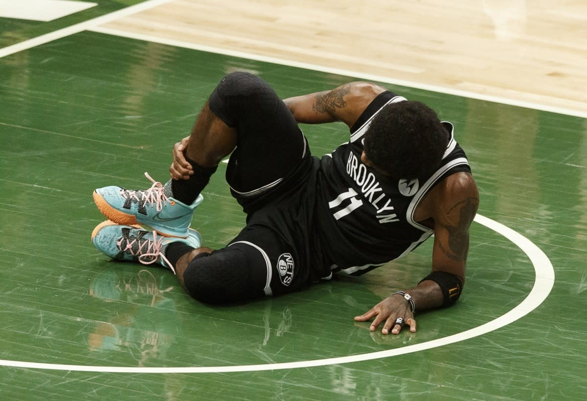 NBA Rumors- Kyrie Irving Could Be Out For Entire Series Vs. Bucks