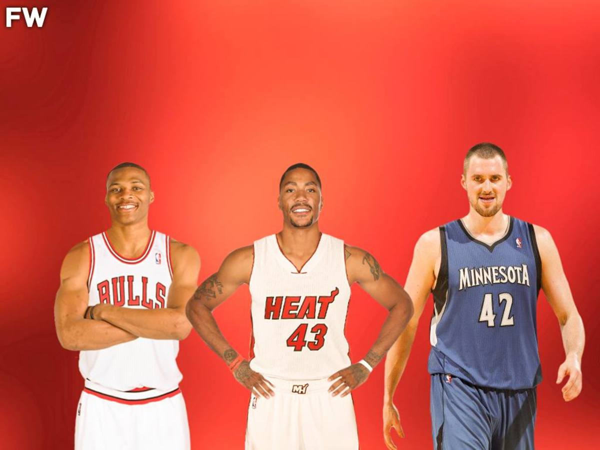 Re-Drafting The 2008 NBA Draft Class: Russell Westbrook Or Derrick Rose?