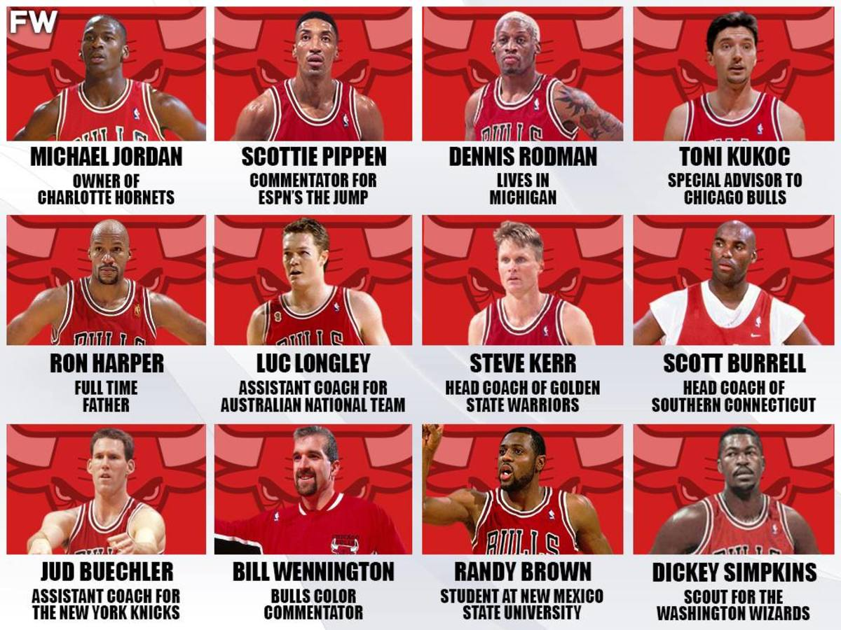 1998 NBA Champions Chicago Bulls: Where Are They Now?