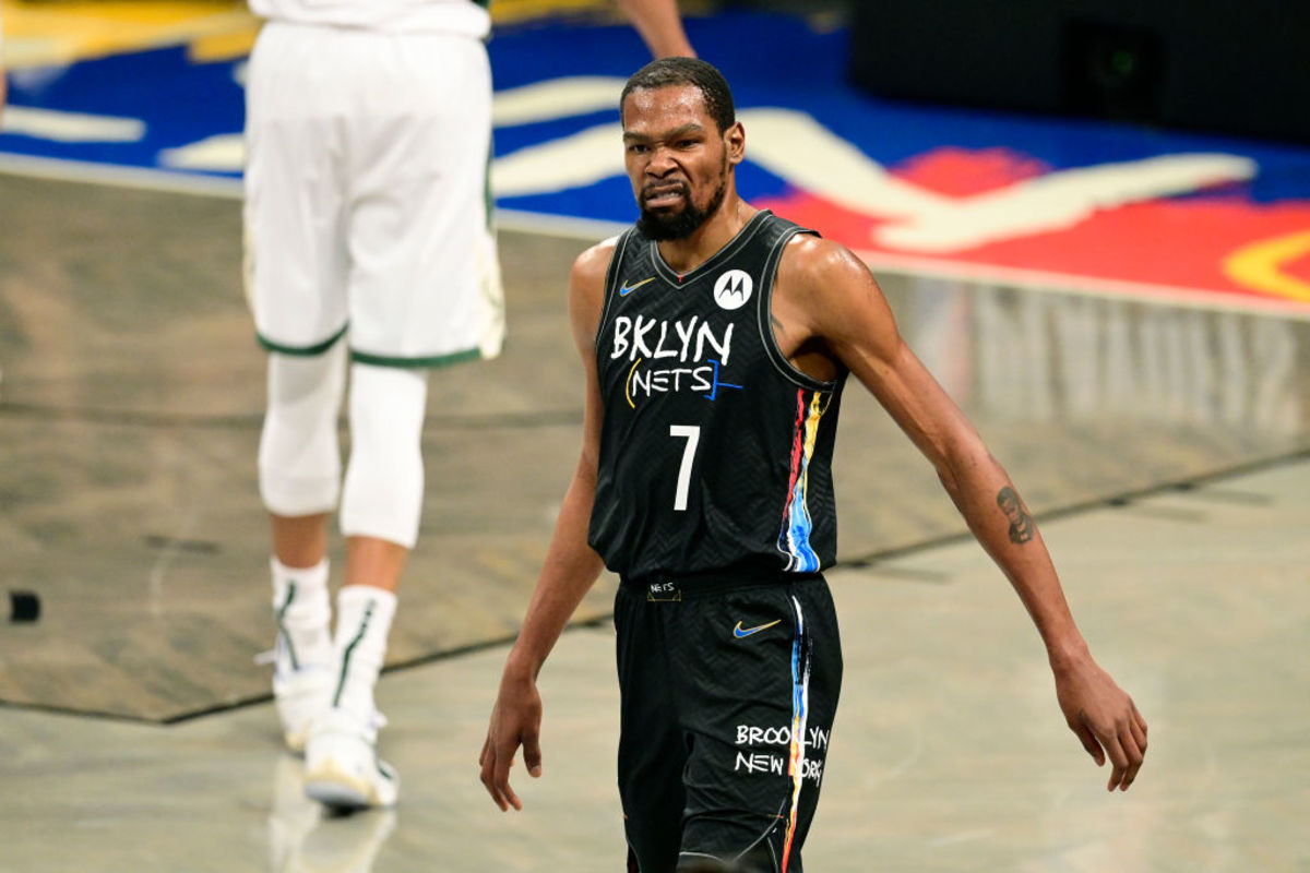 """Kevin Durant On If His Good Individual Performance Made Him Fell Better About The Loss- """"Not At All."""""""