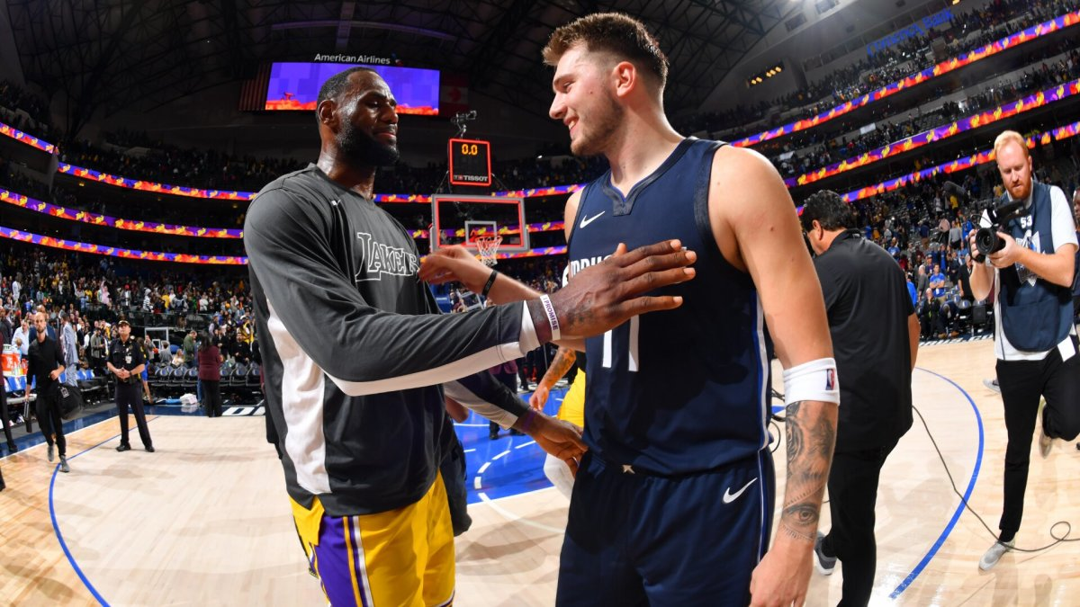 """Luka Doncic On LeBron James Wanting Him To Be The First Player To Wear His Signature Shoes: """"It Felt Really Nice. It Was Special."""""""