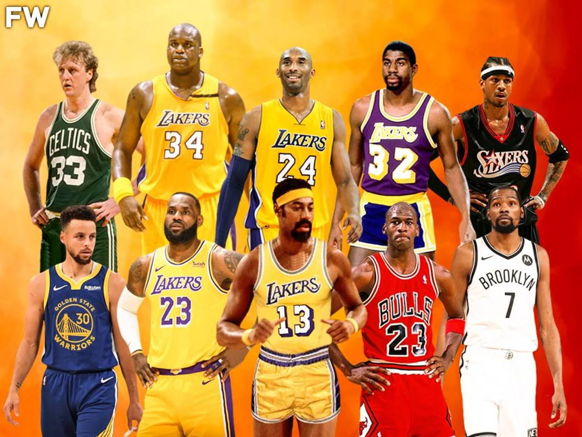 Top 10 Most Gifted NBA Players Of All Time