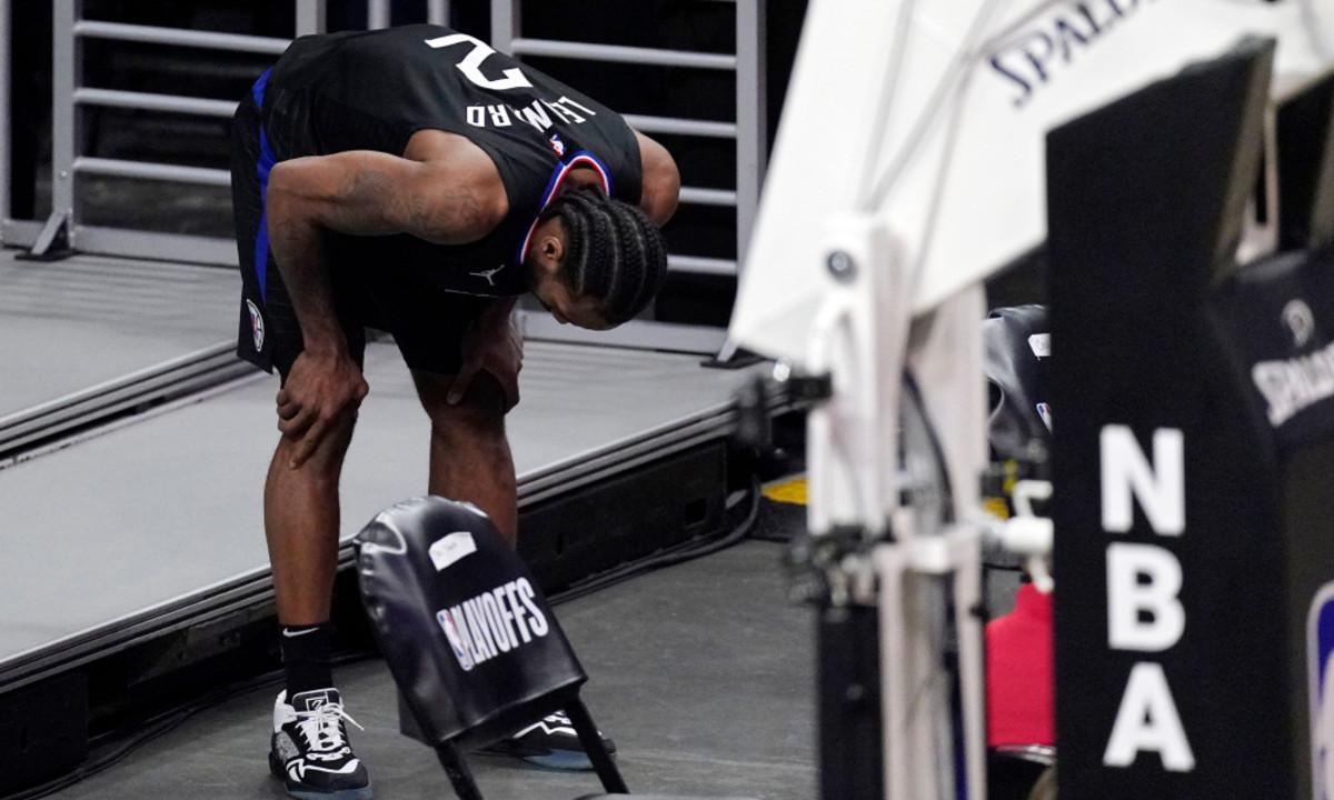 "Kendrick Perkins Says Kawhi Leonard Will Not Return This Postseason- ""I Don't Think He Comes Back."""