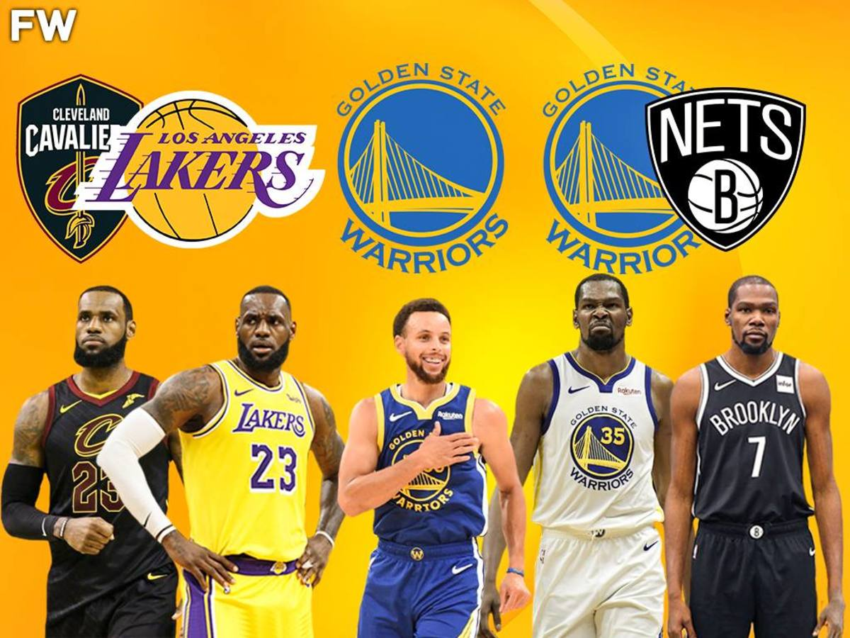 LeBron James, Kevin Durant, Steph Curry
