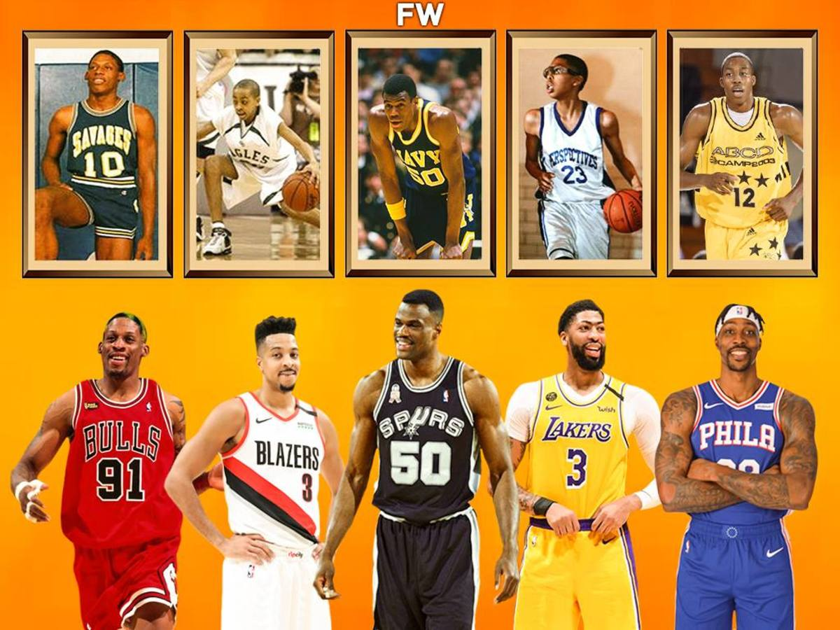 15 Craziest Growth Spurts In NBA History