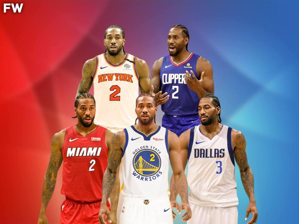 NBA Rumors: Top 5 Best Destinations For Kawhi Leonard