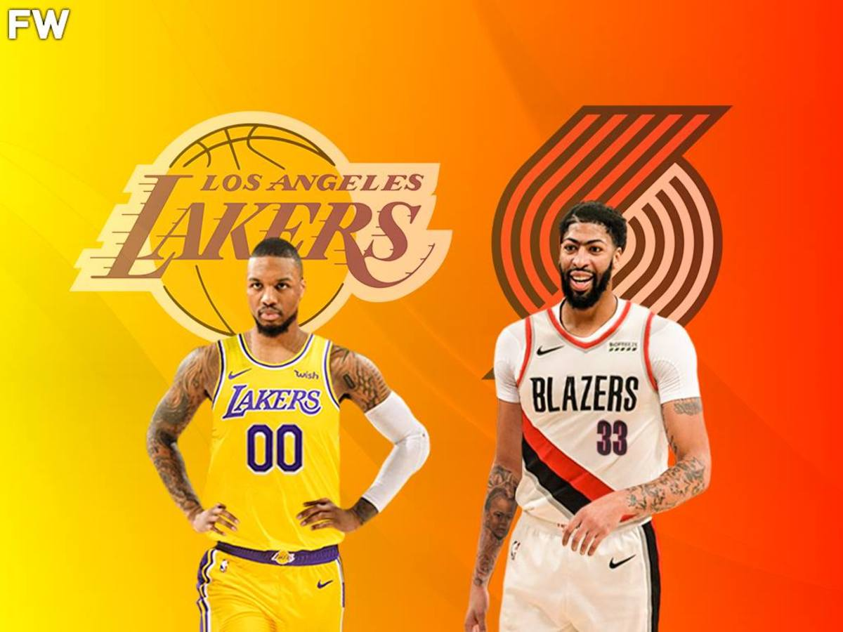 Should The Lakers Trade Anthony Davis For Damian Lillard: The Pros And Cons Of A Blockbuster Deal