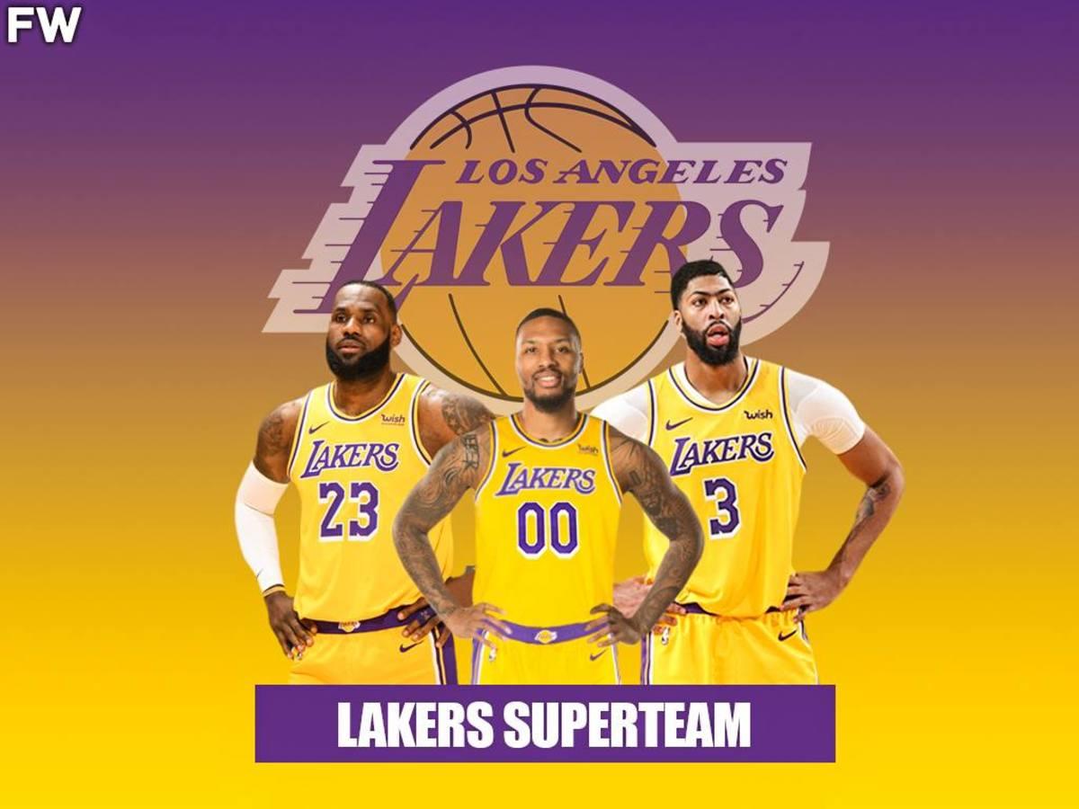 Lakers Superteam: LeBron James, Anthony Davis, Damian Lillard