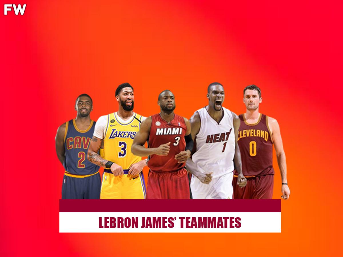 LeBron James's Best Teammates
