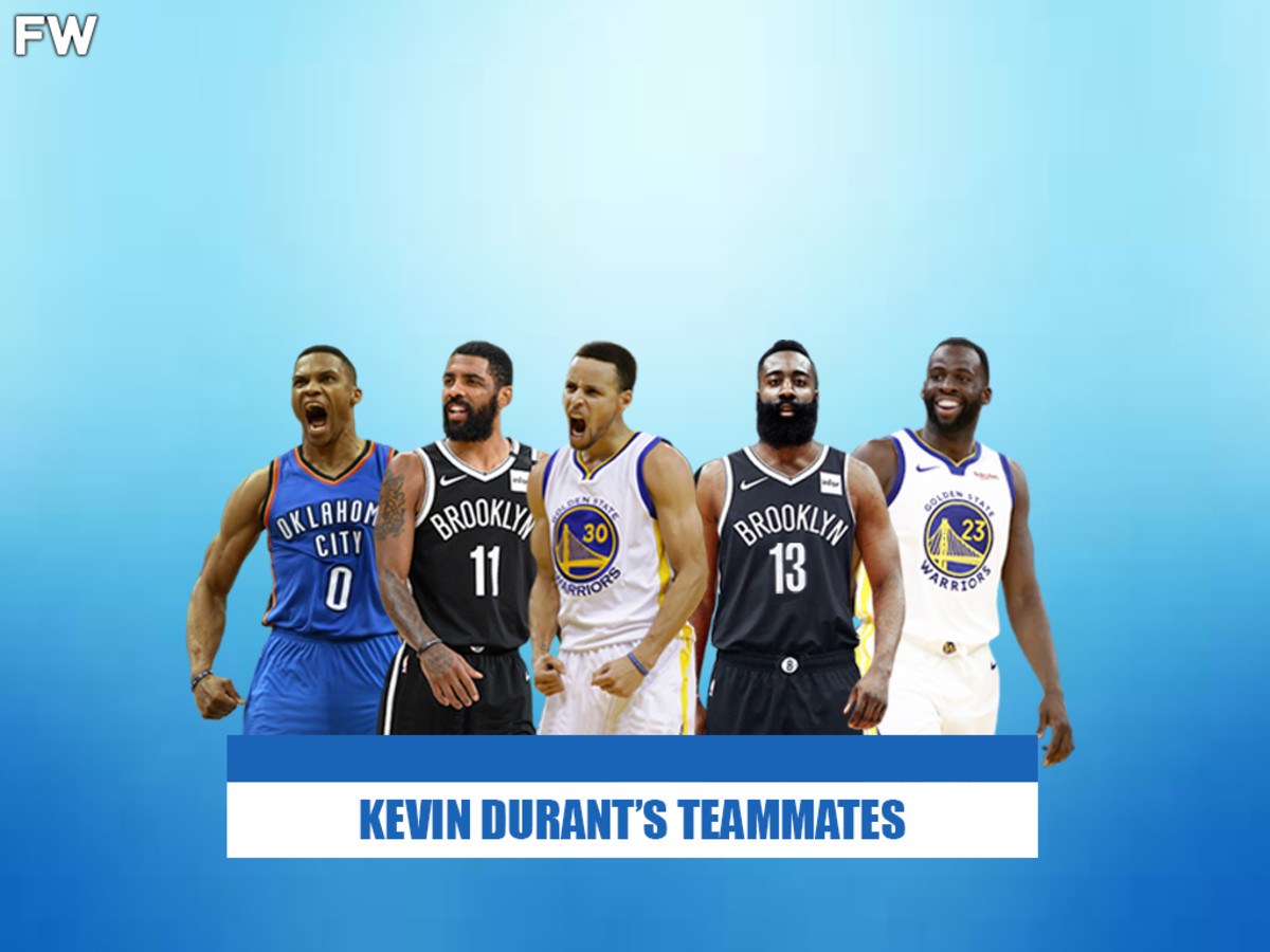 Kevin Durant's Best Teammates