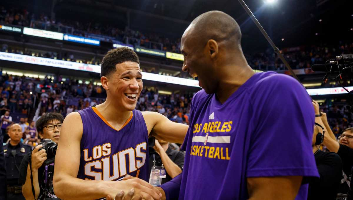 Devin Booker Reveals What Kobe Bryant Would Tell Him About 2021 NBA Finals