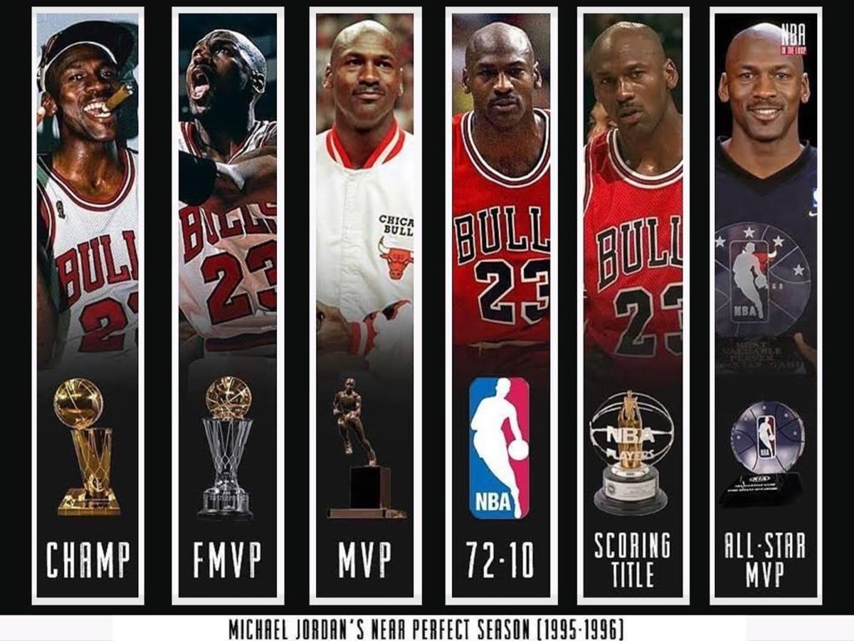 Michael Jordan's 1995-96 Season Was The Most Perfect Season In NBA History