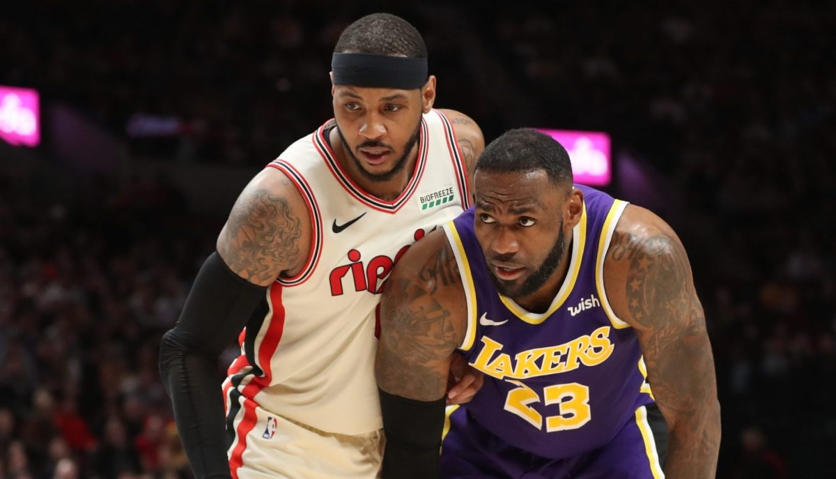 """The Lakers Are """"The Most Likely Landing Spot"""" For Carmelo Anthony If He Leaves Portland In Free Agency, Says NBA Agent"""