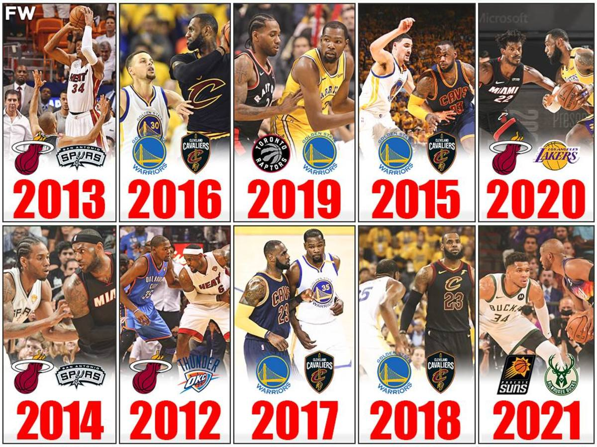 Rankings The Best NBA Finals Of The Last 10 Years