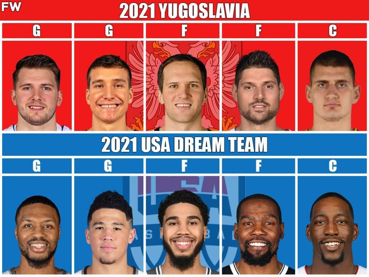 Yugoslavia vs. USA Dream Team