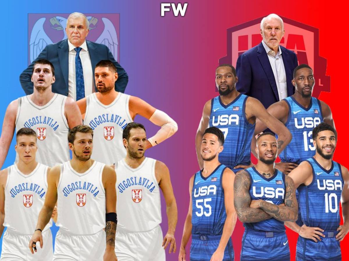 2021 Yugoslavia Dream Team vs. 2021 Team USA: Who Would Win At The Olympic Games?