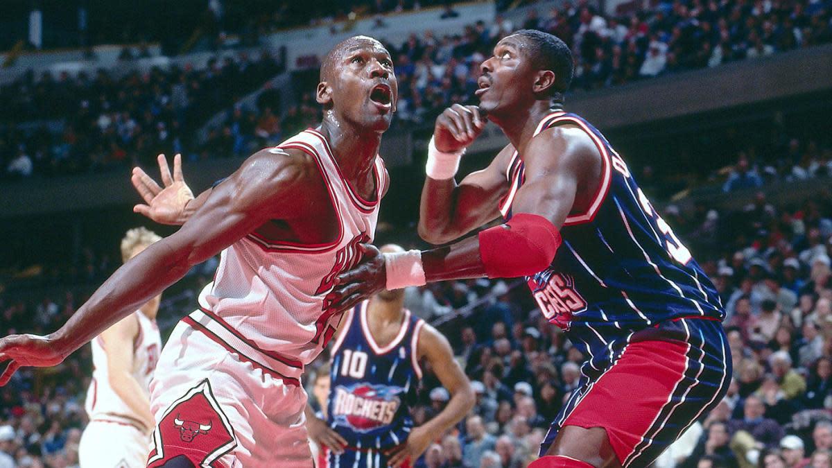 Michael Jordan vs. Hakeem Olajuwon