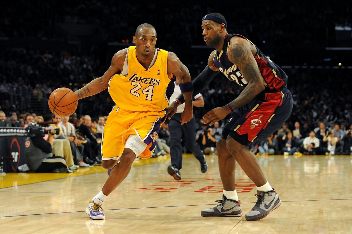 Kobe Bryant Lakers vs. LeBron James Cavs