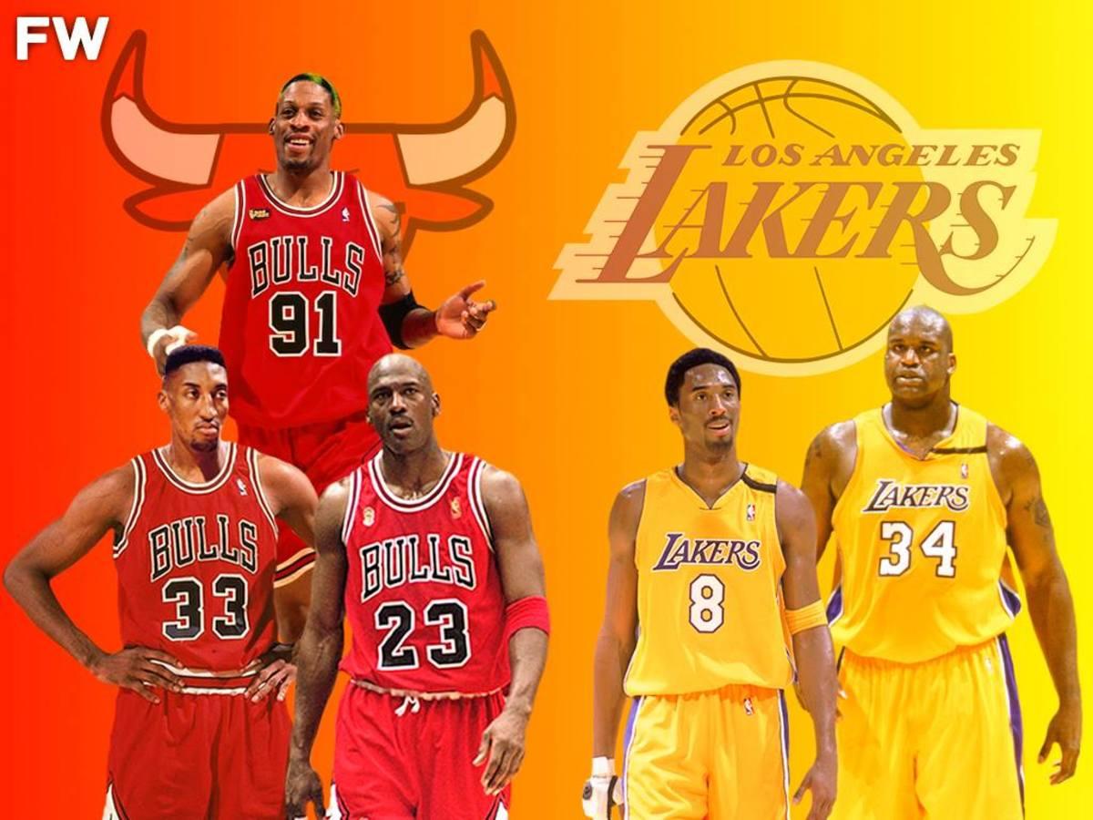 1998 Chicago Bulls vs. 1998 Los Angeles Lakers