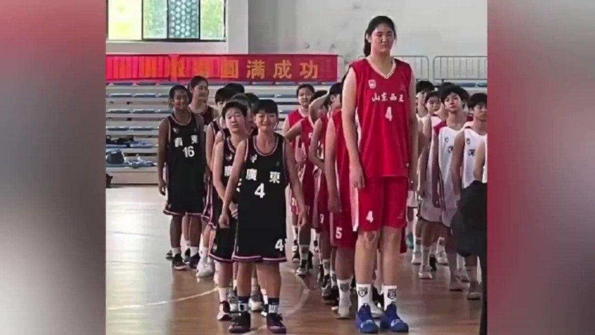 14-Year Old 7'5 Zhang Ziyu Could Be The WNBA's Yao Ming