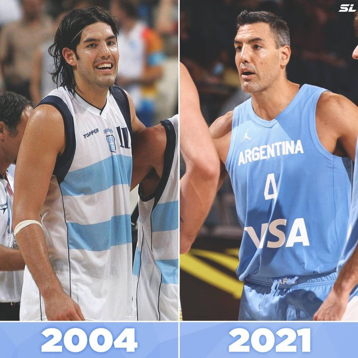 """Manu Ginobili On Luis Scola: """"You Would Have To Shoot Scola In The Head For Him Not To Play In The Olympics."""""""