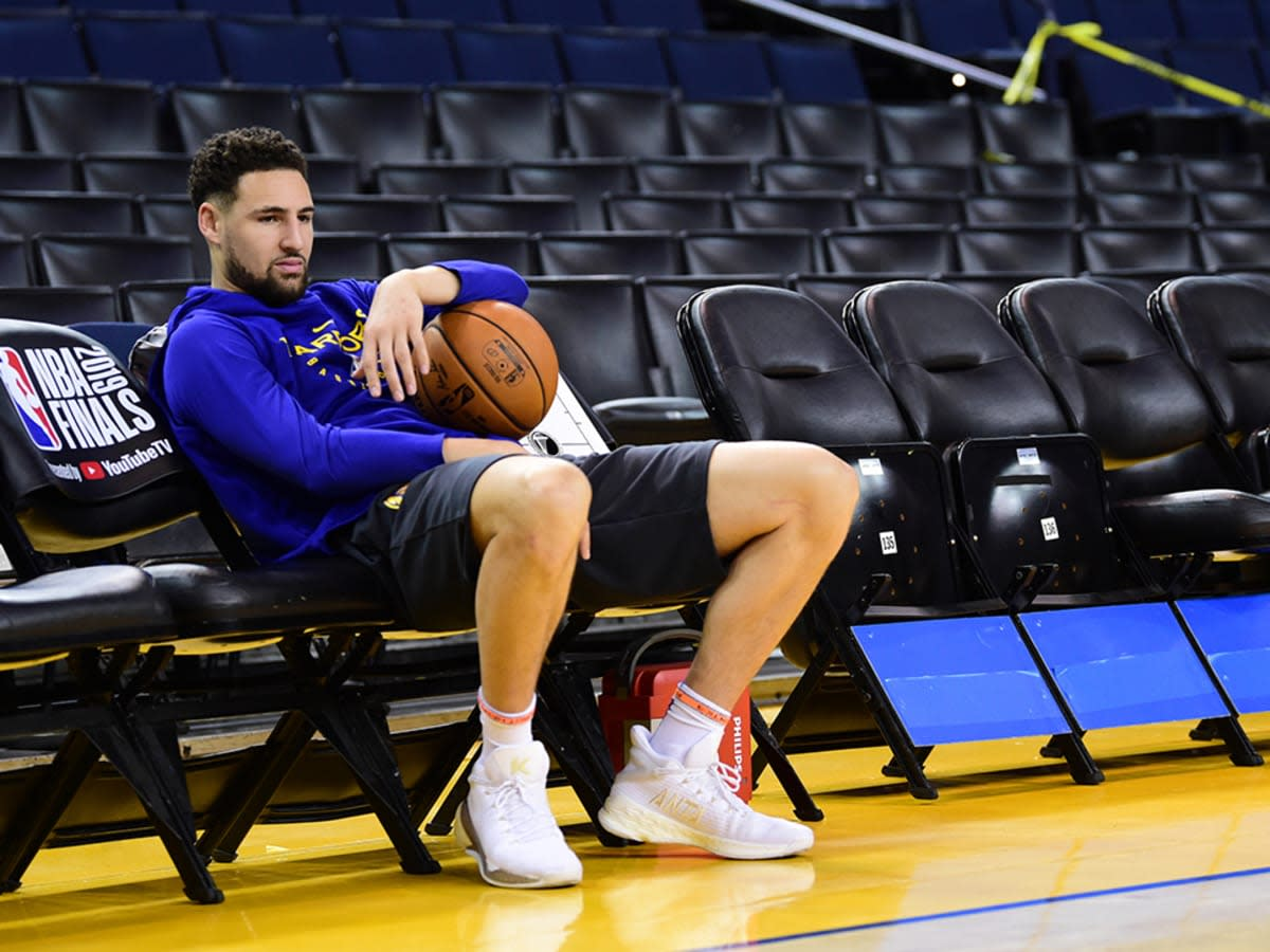 """Steve Kerr On Klay Thompson's Injury Recovery- """"He's Putting In So Much Work..."""""""