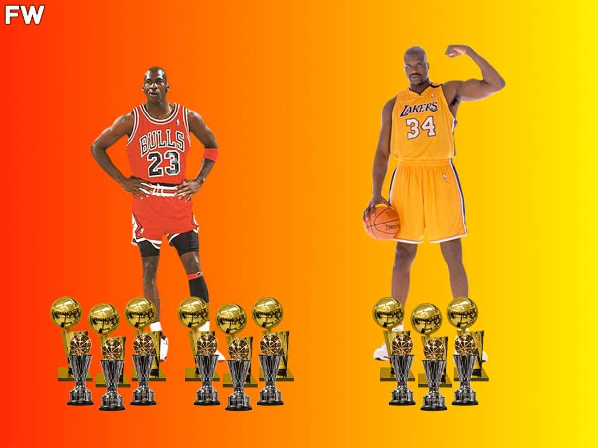 Michael Jordan And Shaquille O'Neal Are The Only Players Who Have 3 Championships And 3 Finals MVPs In A Row