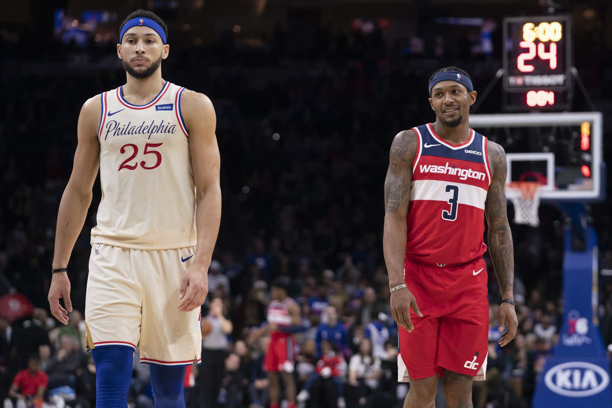 """Bradley Beal Says The Wizards Exposed Ben Simmons- """"He Was More Or Less Aggressive In Our Series, The First Couple Games, And Then It Kind Of Died Down And Trickled Down."""""""