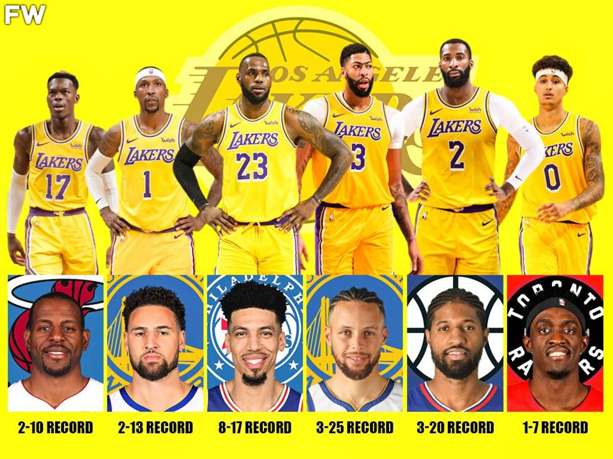 The Deadliest Kryptonite For The Los Angeles Lakers: LeBron James Is 8-17 Against Danny Green, Anthony Davis Is 2-25 Against Stephen Curry