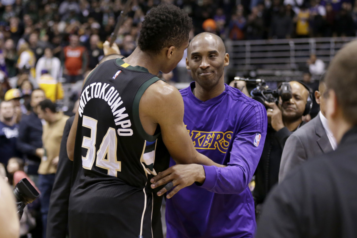 """Giannis Antetokounmpo Reflects On Kobe Bryant Challenging Him To Win MVP And NBA Championship: """"When He Did, He Made Believe"""""""
