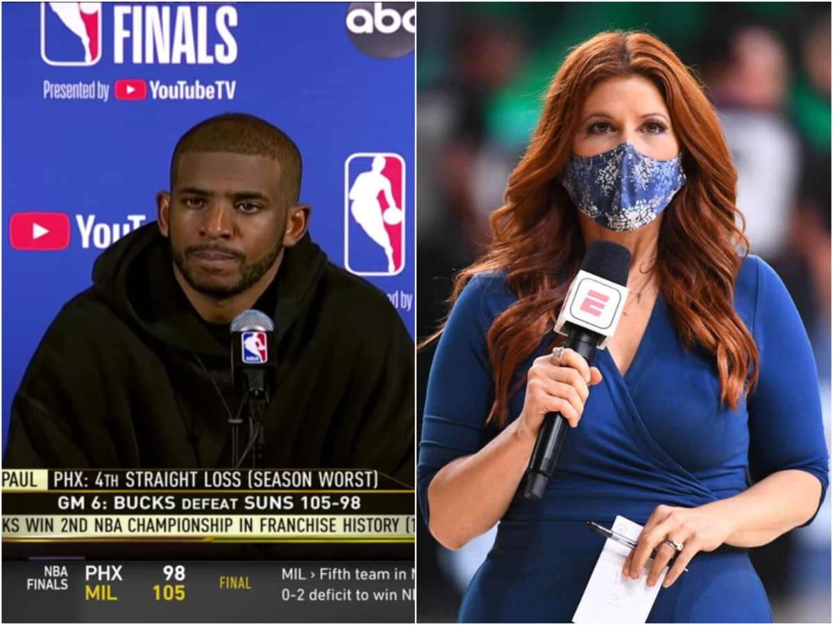 """Chris Paul Ironically Replies To Rachel Nichols Asking 'What Does It Feel Like': """"Feels Like We Just Lost."""""""