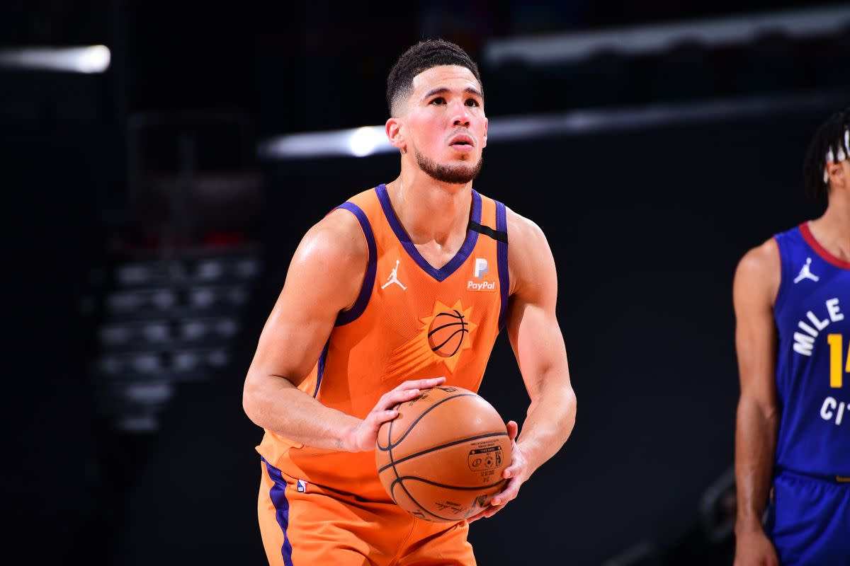 """Devin Booker On The Future Of The Phoenix Suns- """"Just Championship Basketball At All Times."""""""