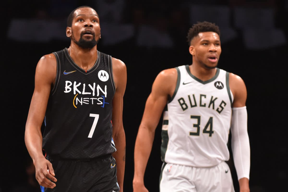 """Shaquille O'Neal Says Milwaukee Bucks Will Be The Biggest Challenge To The Brooklyn Nets In The East: """"Don't Disrespect The Champ"""""""